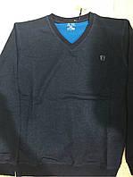 Мужская кофта темно-серого цвета