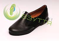 Кожаные туфли VIP 30-35 размер
