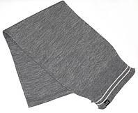 Итальянский шарф для леди 175 см, акрил ARMANI 14(АКС) 285250 3A397 01449 GRIGIO MEL MEDIO серый