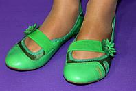 Яркие женские туфли