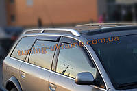 Дефлекторы окон (ветровики) COBRA-Tuning на AUDI A6 ALLROAD 2000-2006