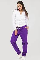Спортивные штаны женские фиолетовые Спорт