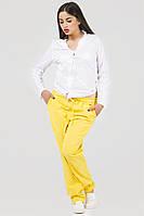 Спортинвые штаны женские желтые Спорт