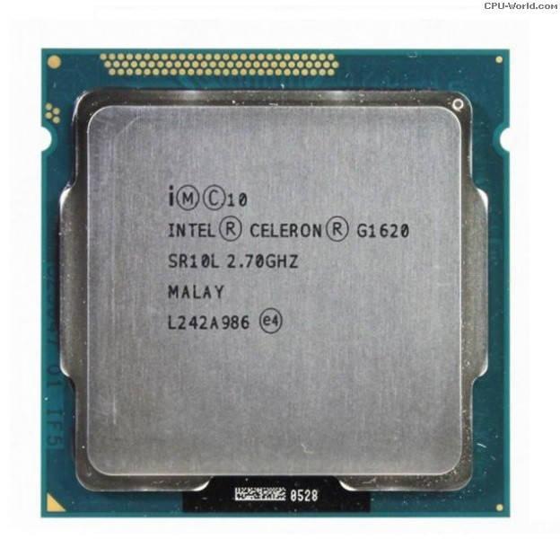 """Процессор Intel Celeron G1620 Б\У """"Over-Stock"""""""