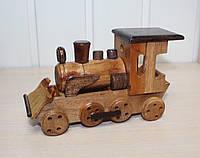 Деревянная сувенирная модель Паровозика