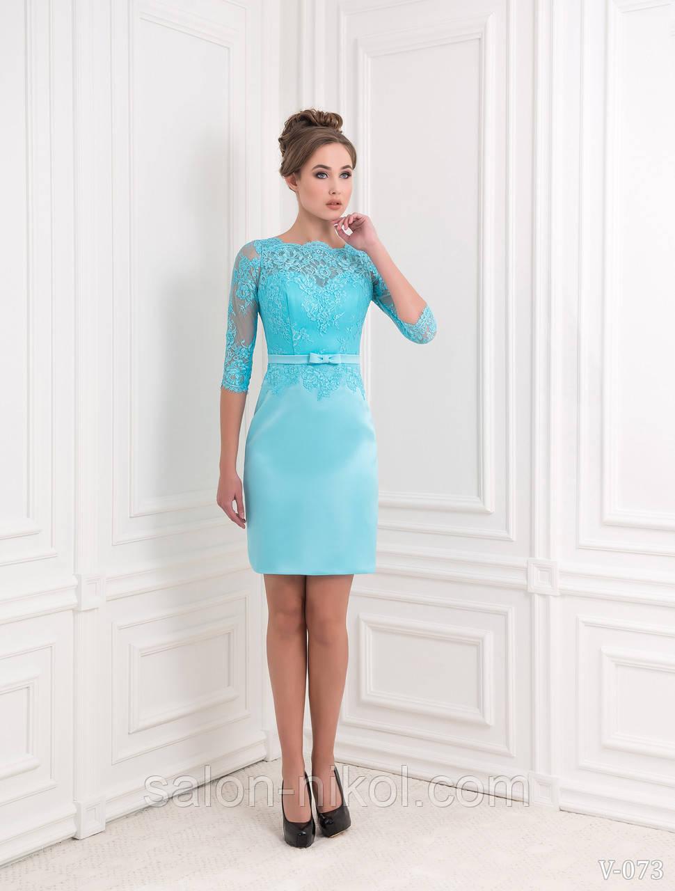Вечернее, выпускное платье V-073