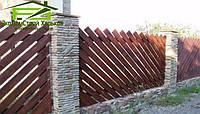 Строительство заборов из дерева, фото 1
