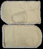 Рукавицы брезентовые, плотные (Украина)