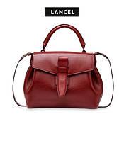 Женская кожаная сумка Lancel Charlie
