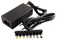 Универсальное сетевое зарядное устройство для ноутбука 120W, адаптер блок питания 8 разъемов
