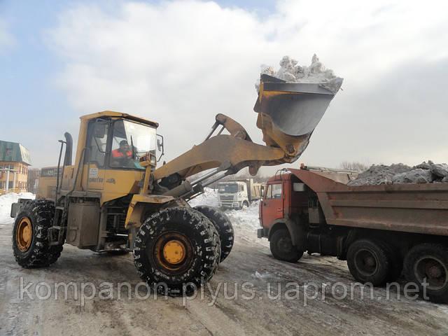 Убрать снег Киев (044) 531 88 75