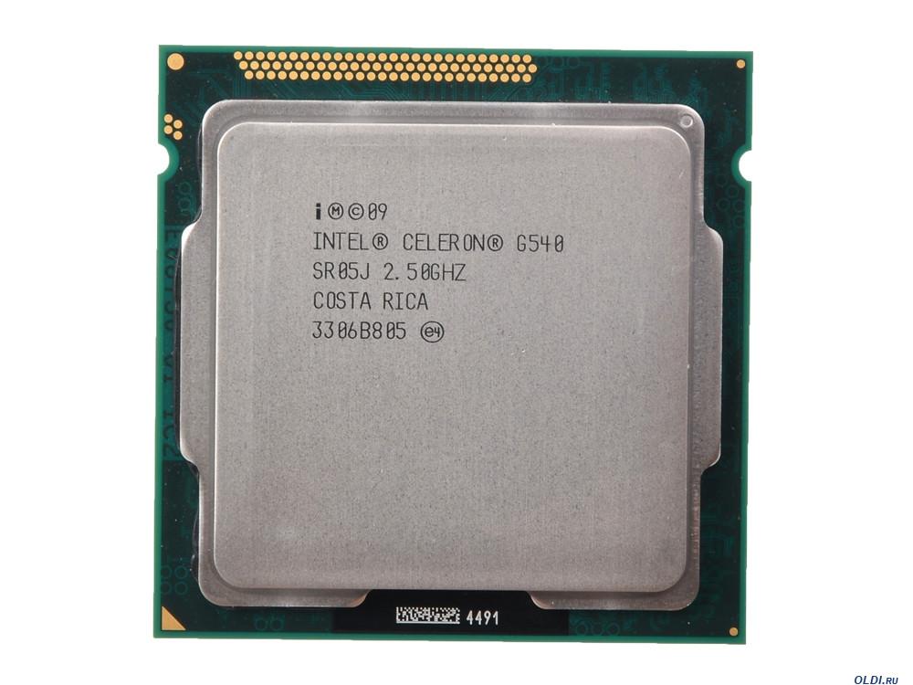 """Процессор Intel Celeron G540 2.5GHz  Б\У """"Over-Stock"""""""