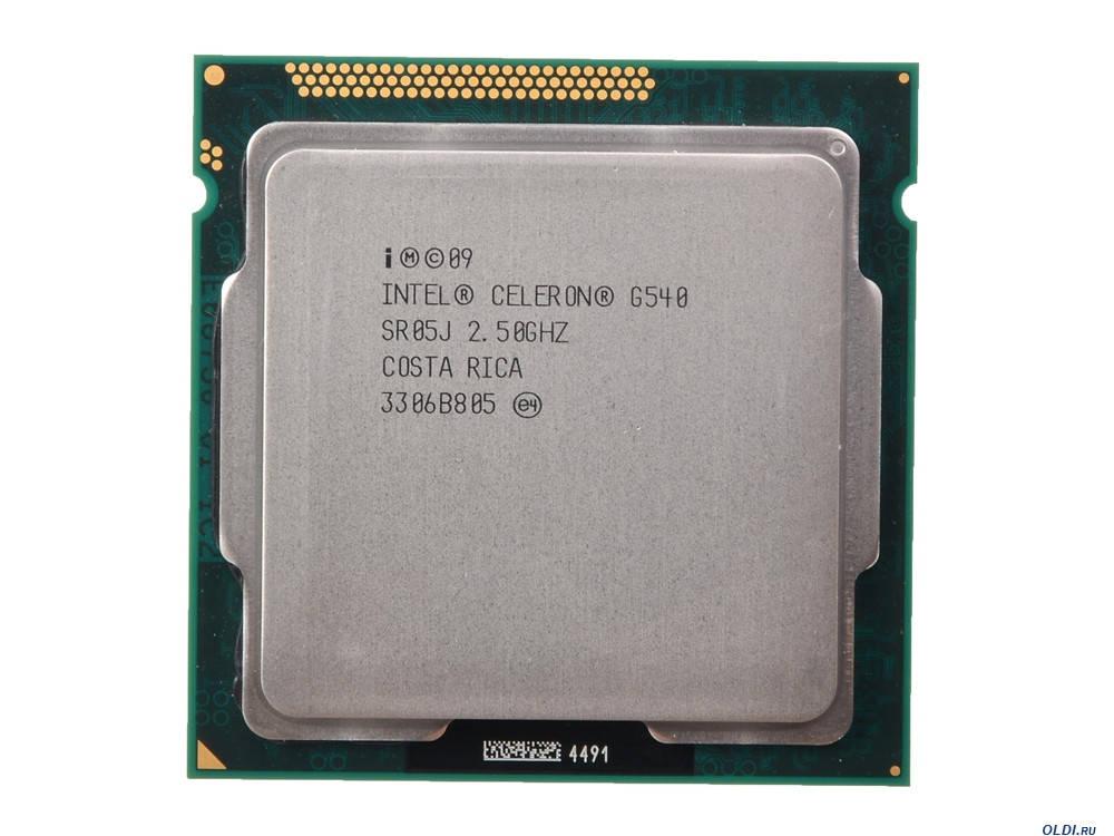 """Процессор Intel Celeron G540 Б\У """"Over-Stock"""""""