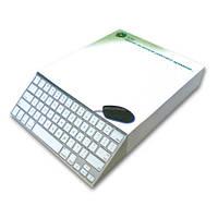 """3D блок для записей """"ICQ"""", серия """"Паперова усмішка"""""""
