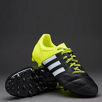 Детские футбольные бутсы Adidas   ACE 15.3 FG Leather Junior
