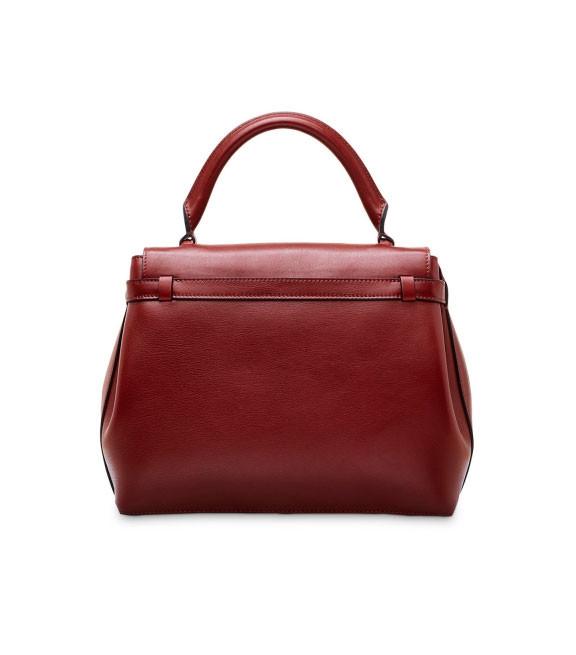 Женская кожаная сумка Lancel Charlie | сезон осень-зима 2016-2017