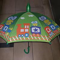 Зонт детский в пластиковом чехле паравозик, фото 1