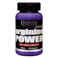 Arginine Power Ultimate Nutrition, 100 капсул