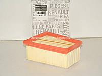 Фильтр воздушный на Рено Кенго 1.6i (10.2001-2008) - RENAULT (Оригинал) 8200431051