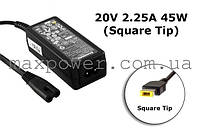 Блок питания для ноутбука Lenovo 20V 2.25A 45W (Square Type) ADLX45NDC3,  X1, T450,  S1 Yoga, T550, X240