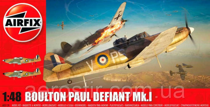 05128 AIRFIX 1/48 Boulton Paul Defiant Mk.I