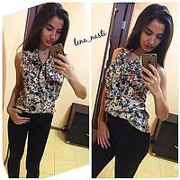 Женская цветная блуза