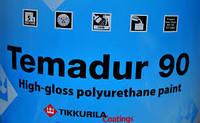 Полиуретановая краска Тиккурила Темадур 90 TСL,  7.5л+1.5