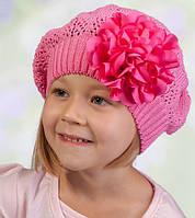 Головной убор для девочек Розовый Осень 48-52 см 3-002550 Tutu Польша