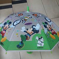 Зонт детский силиконовый Микки Маус