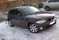 Дефлекторы окон (ветровики) COBRA-Tuning на BMW 1 E81/87 2004-2012