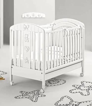 Детская кроватка Mibb Blanche Lumier, фото 2