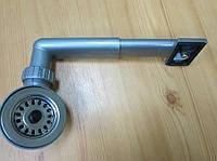 Вентиль с переливом и сеткой - пробкой (диаметр 70 мм)