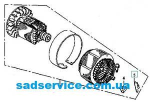 Статор+ротор для генератора Sadko GPS-6500E