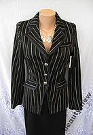 Стильный новый пиджак ATMOSPHERE полиэстер вискоза S 44-46 А216N