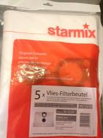 Флисовый мешок для строительного пылесоса Starmix FBV 25-35/10 (5 шт.)