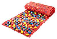 Коврик-дорожка массажный с цветными камнями(150*40 см)