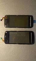 Сенсорное  стекло  Nokia 5800 черное copy .