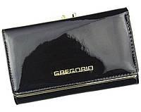 Женский кошелек Gregorio (L108) leather black, фото 1
