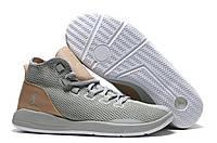 Мужские баскетбольные кроссовки Nike Air Jordan Reveal Premium Wolf (найк аир джордан) серые