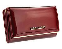Женский кошелек Gregorio (L108) leather red, фото 1
