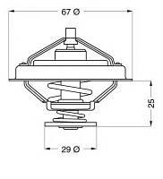 GT TH01982G1 = VR 1513.83 = VR 5963.80 Термостат GATES