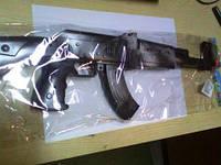 Пістол 50 A AK-47 автомат 50см світ н/б в куль 96/192
