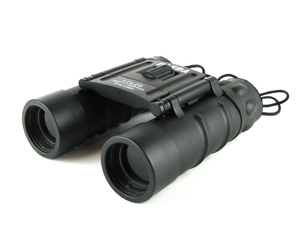 Бинокль 12x25 качественная оптика Компактный Чехол