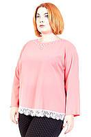 Блуза большого размера Персия (3цв), шифоновая блузка большого размера, для полных, дропшиппинг