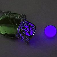 [ Кулон Куб светящийся ] Винтажный кулон на шею Кулон, 10, 500, Для женщин, Винтаж, Квадратная форма, 10, Фиолетовый, да, 10