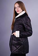 Ли. Зимняя женская куртка. Черный.