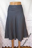 Новая стильная юбка MONSOON лен L 50-52 В276N