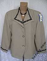 Стильный новый пиджак ANDREA KAY полиэстр XL B126N