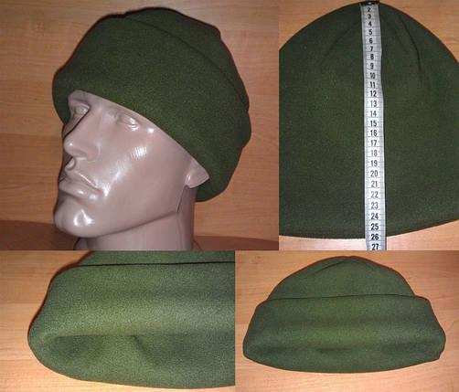Очень тёплая зимняя флисовая шапка (плотность 340 гр/м2), фото 2