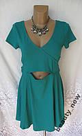 Новое стильное платье H&M DIVIDED хлопок L 48-50 B245N